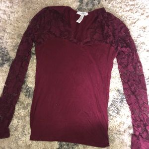 Tops - Laced long sleeve